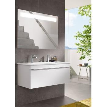 Vanity washbasin Rectangle Venticello, 4104AK, 1000 x 500 mm