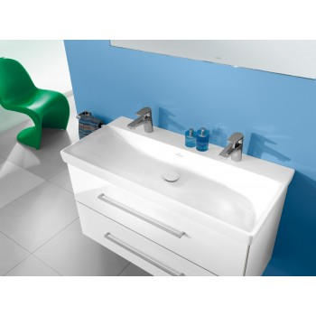 Vanity washbasin Rectangle Avento, 4156A1, 1000 x 470 mm