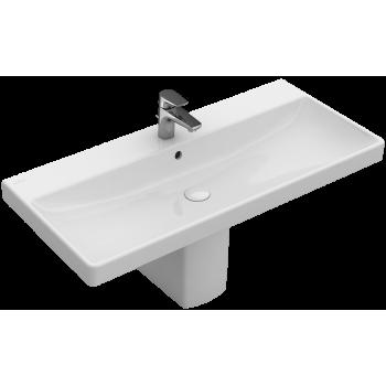 Vanity washbasin Rectangle Avento, 4156A2, 1000 x 470 mm