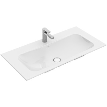 Vanity washbasin Rectangle Finion, 4164A0, 1000 x 500 mm