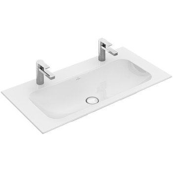 Vanity washbasin Rectangle Finion, 4164A1, 1000 x 500 mm