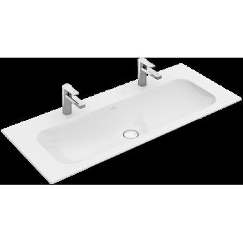 Vanity washbasin Rectangle Finion, 4164C1, 1200 x 500 mm