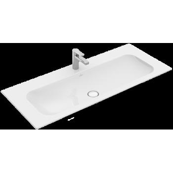 Vanity washbasin Rectangle Finion, 4164C2, 1200 x 500 mm