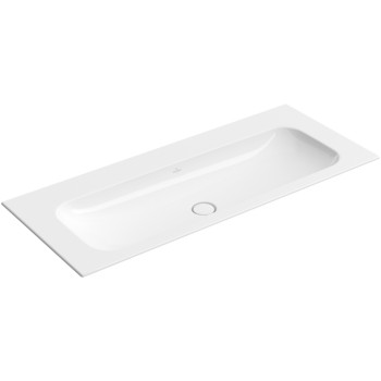 Vanity washbasin Rectangle Finion, 4164C3, 1200 x 500 mm