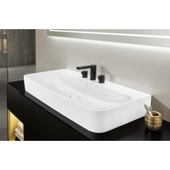 Washbasin Rectangle Finion, 41681B, 1000 x 470 mm