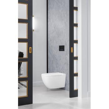 Washdown toilet, rimless Rectangle Antheus, 4608R0, 375 x 560 mm