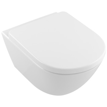 Washdown toilet Comfort, rimless Oval Subway 2.0, 4609R0, 410 x 580 mm