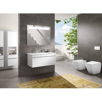 Washdown toilet, rimless Rectangle Venticello, 4613R0, 375 x 560 mm