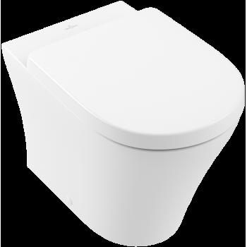 Washdown toilet, rimless Oval O.novo, 4624R0, 360 x 560 x 400 mm