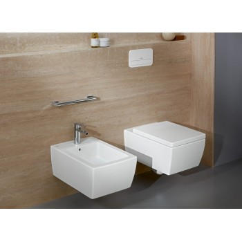 Washdown toilet, rimless Rectangle Memento 2.0, 4633R0, 375 x 560 mm