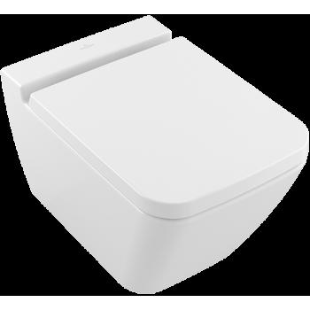 Washdown toilet, rimless Rectangle Finion, 4664R0, 375 x 560 mm