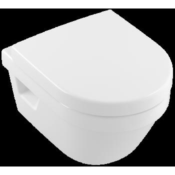 Washdown toilet Compact, rimless Oval Architectura, 4687R0, 350 x 480 mm