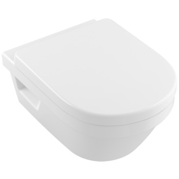Washdown toilet XL, rimless Oval Architectura, 4688R0, 410 x 580 mm