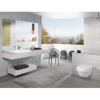 Washdown toilet XL, rimless Oval Architectura, 4688R0, 410 x 580 mm