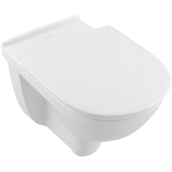 Washdown toilet Vita, rimless Oval O.novo Vita, 4695R0, 360 x 595 mm
