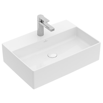 Surface-mounted washbasin Rectangle Memento 2.0, 4A0750, 500 x 420 mm