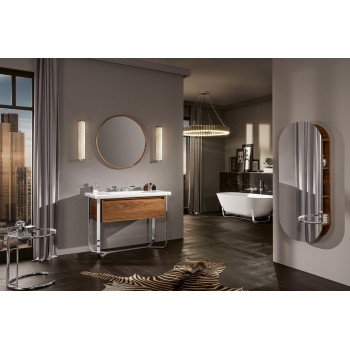 Vanity washbasin Rectangle Antheus, 4A09A5, 1000 x 540 mm