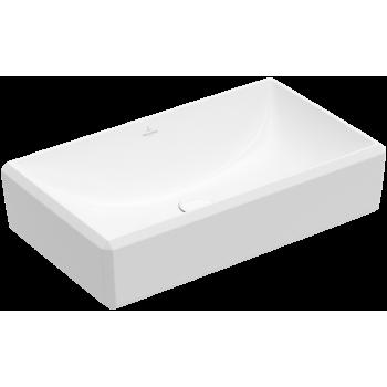 Surface-mounted washbasin Rectangle Antheus, 4A1065, 650 x 388 mm