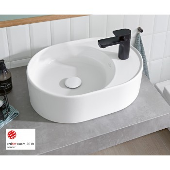 Surface-mounted washbasin Oval Collaro, 4A1551, 510 x 380 mm