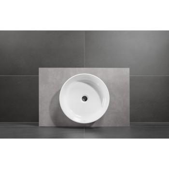 Surface-mounted washbasin Round Collaro, 4A1840, Diameter: 400 mm