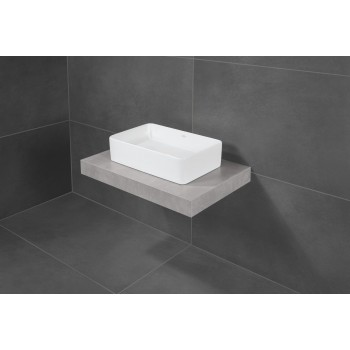 Surface-mounted washbasin Rectangle Collaro, 4A2056, 560 x 360 mm