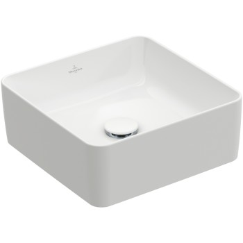 Surface-mounted washbasin Square Collaro, 4A2138, 380 x 380 mm