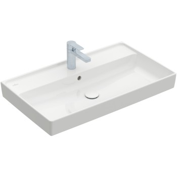Vanity washbasin Rectangle Collaro, 4A3380, 800 x 470 mm
