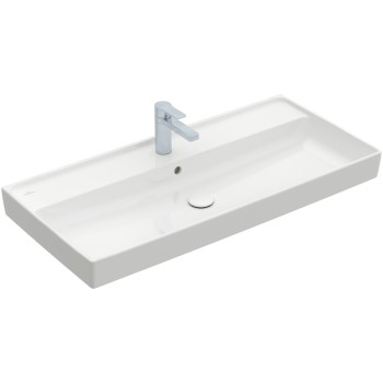Vanity washbasin Rectangle Collaro, 4A33A2, 1000 x 470 mm