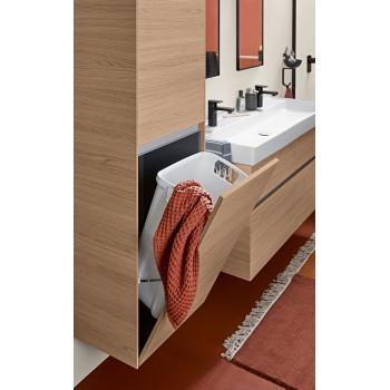 Vanity washbasin Rectangle Collaro, 4A33C1, 1200 x 470 mm