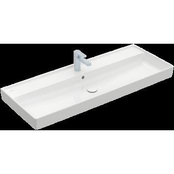 Vanity washbasin Rectangle Collaro, 4A33C2, 1200 x 470 mm