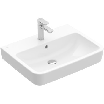 Washbasin Angular O.novo, 4A4165, 650 x 460 mm