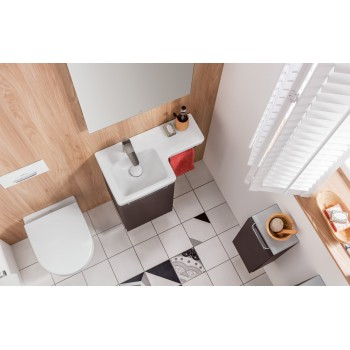 Washdown toilet Compact, rimless Oval Subway 2.0, 5606R0, 355 x 480 mm