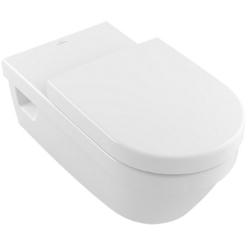 Washdown toilet Vita, rimless Oval Architectura Vita, 5649R0, 370 x 700 mm