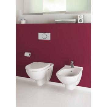 Washdown toilet, rimless Oval O.novo, 5660R0, 360 x 560 mm