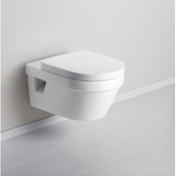 Washdown toilet, rimless Oval Architectura, 5684R0, 370 x 530 mm