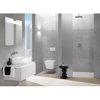 Washdown toilet, rimless Rectangle Architectura, 5685R0, 370 x 530 mm