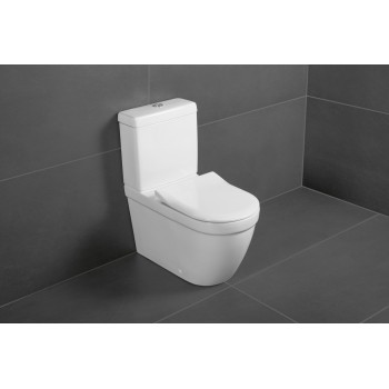 Washdown toilet, rimless Oval Architectura, 5690R0, 370 x 540 mm