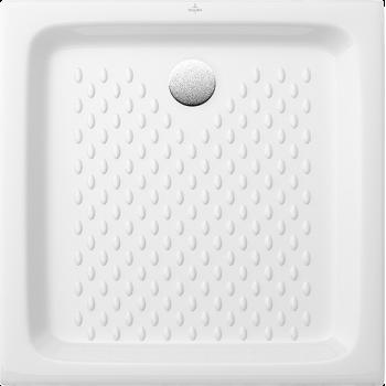 Square shower tray Square O.novo, 6028A7, 700 x 700 x 100 mm, Shower tray depth: 80 mm
