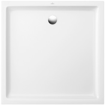Square shower tray Square O.novo Plus, 6210D4, 900 x 900 x 60 mm