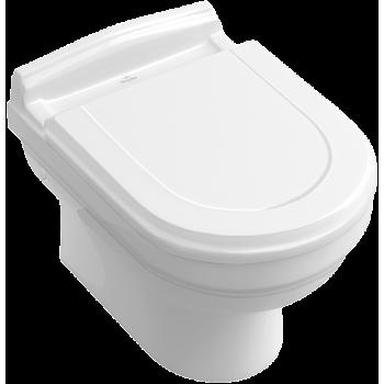 Washdown toilet Oval Hommage, 6661B0, 370 x 600 mm