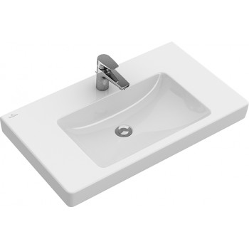 Vanity washbasin Rectangle Subway 2.0, 71751G, 1000 x 470 mm