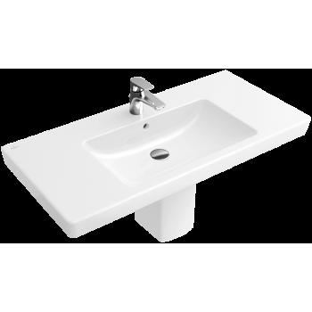 Vanity washbasin Rectangle Subway 2.0, 7175A0, 1000 x 470 mm