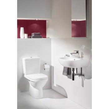 Washdown toilet, rimless Round O.novo, 7618R1, 360 x 550 mm