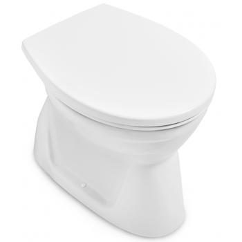 Rimless wash-out toilet Round O.novo, 7619R1, 360 x 525 mm