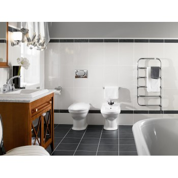 Toilet seat and cover Oval Hommage, 8809S1,