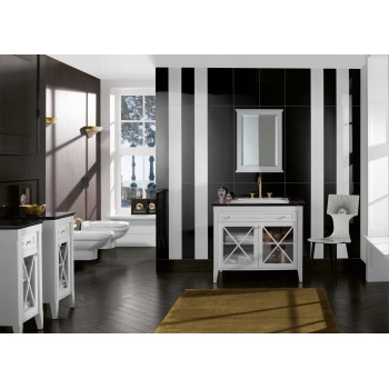 Vanity unit with washbasin Angular Hommage, 8980A1, 985 x 905 x 620 mm