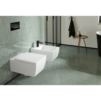 Toilet seat and cover Rectangle Memento 2.0, 8M24S1,