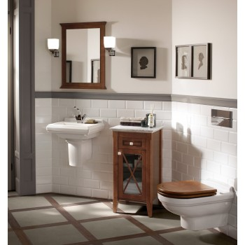 Toilet seat and cover Oval Hommage, 9926K1,