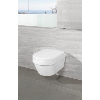 Toilet seat and cover Compact Oval Architectura, 9M66E1,
