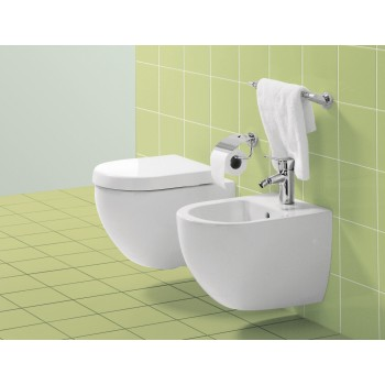 Toilet seat and cover Compact Oval Subway, 9M66S1,